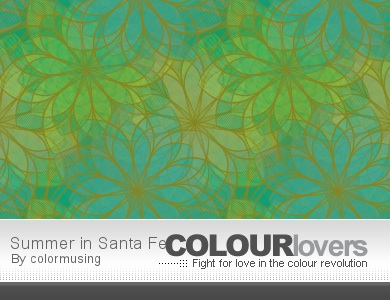 Summer in Santa Fe pattern