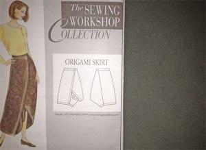Silk Twill Skirt