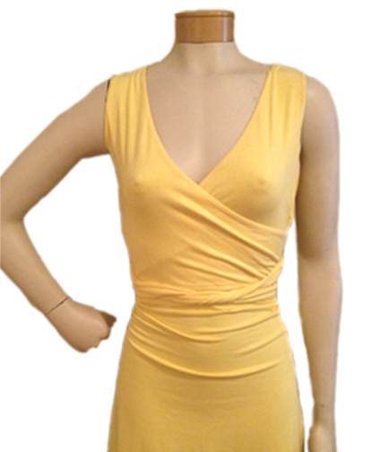 Too-Tight Dress on Mannequin