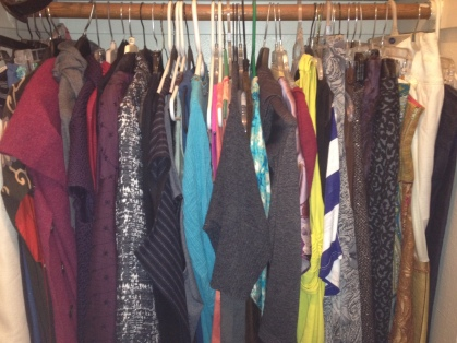 My Closet, Organized by Item Type