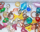Lubun Bay zipper pulls/stitch markers