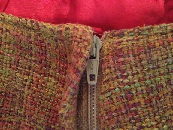 Regular zipper