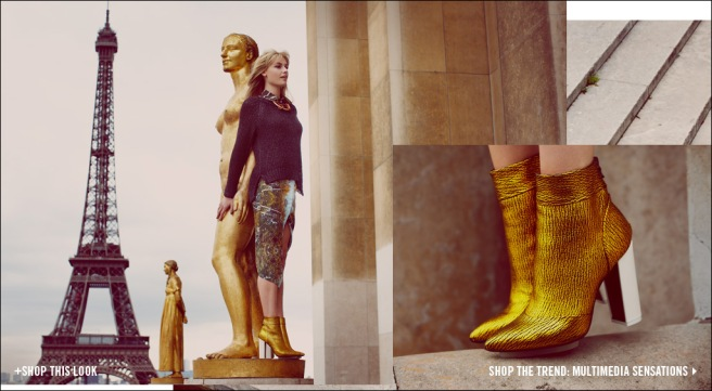 Gold Boots, via Shopbop