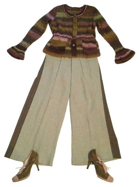 Linen Trousers Fall Outfit 1