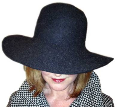 My wide-brimmed wool hat