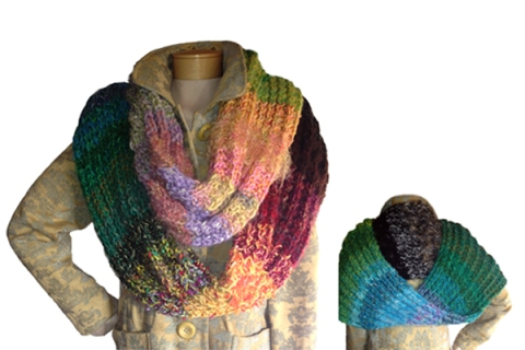 The 4 Seasons Infinity Loop scarf