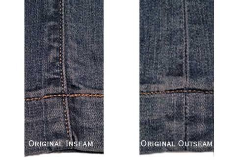 Original seams