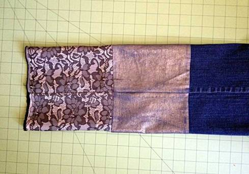 After attaching new cuff