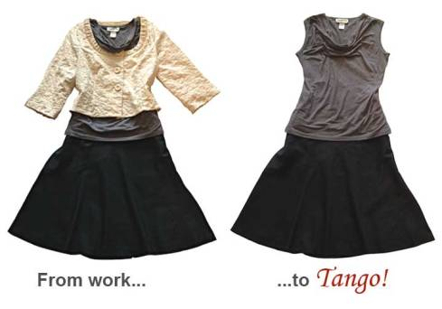 Work-to-tango outfit 1