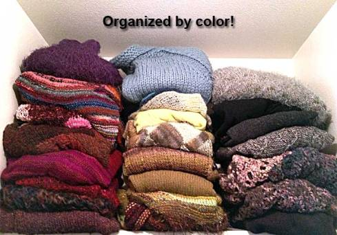Organized by color