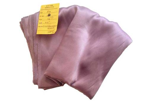 Lavender silk charmeuse