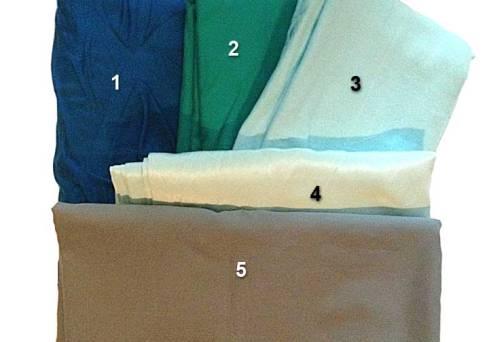 Newly-purchased fabrics