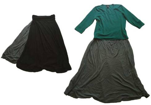 Skirts plus top