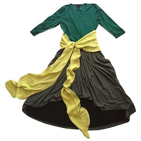 Top/skirt dress mock-up