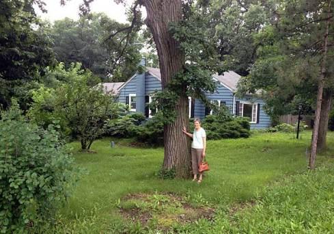 Mom's childhood home