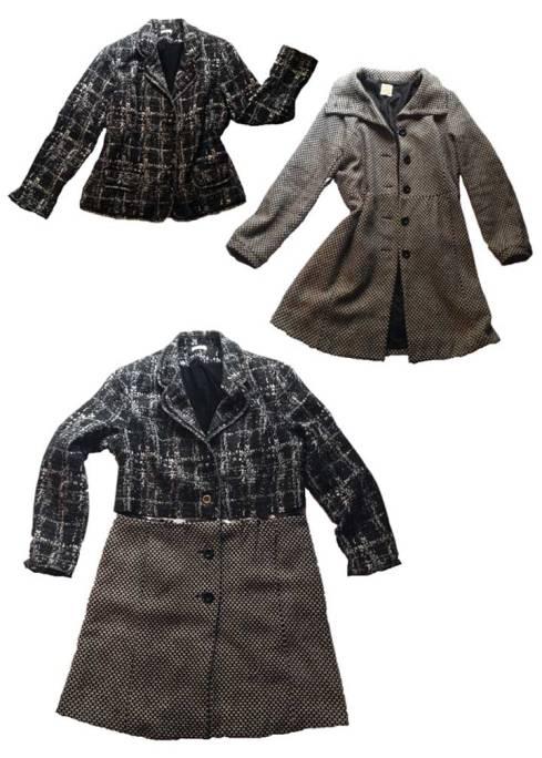 Franken-Coat prep