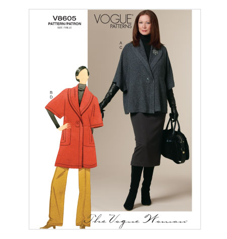 Vogue 8605 sewing pattern