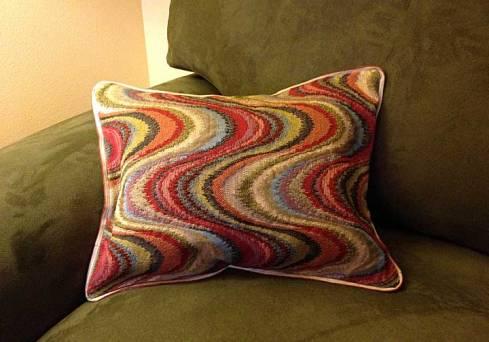 Wavy pillow