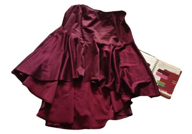Main color: skirt